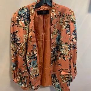 Zara flora blazer